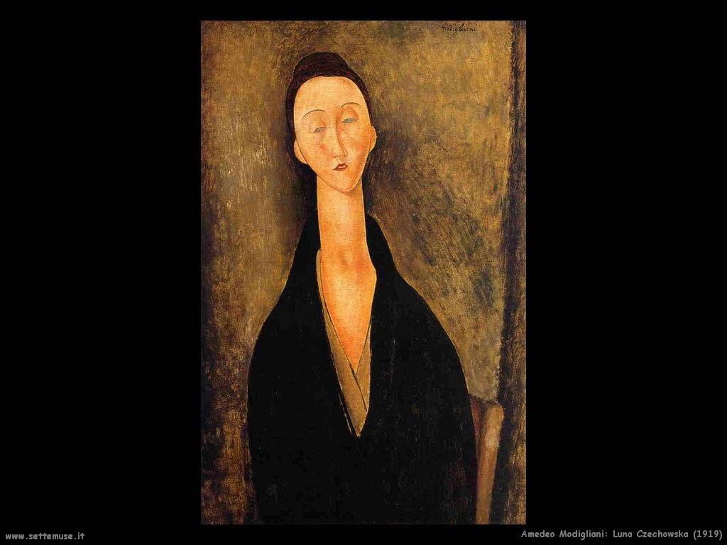 amedeo modigliani Luna Czechowska (1919)