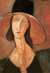 Quadro Modigliani Jeanne