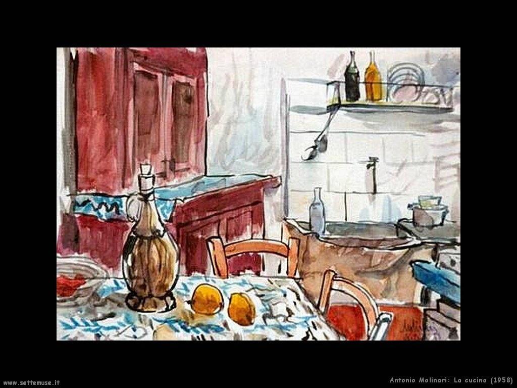 antonio molinari La cucina (1958)