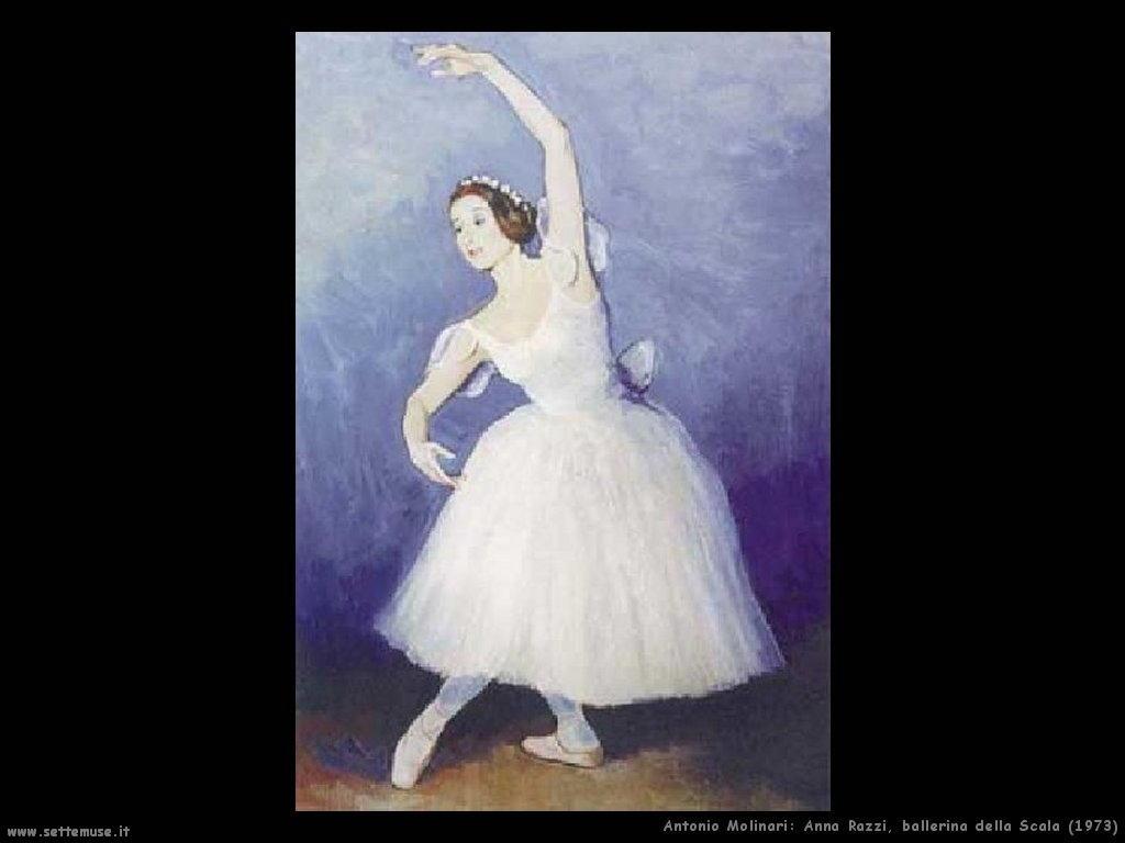 Ballerina della Scala Anna Razzi