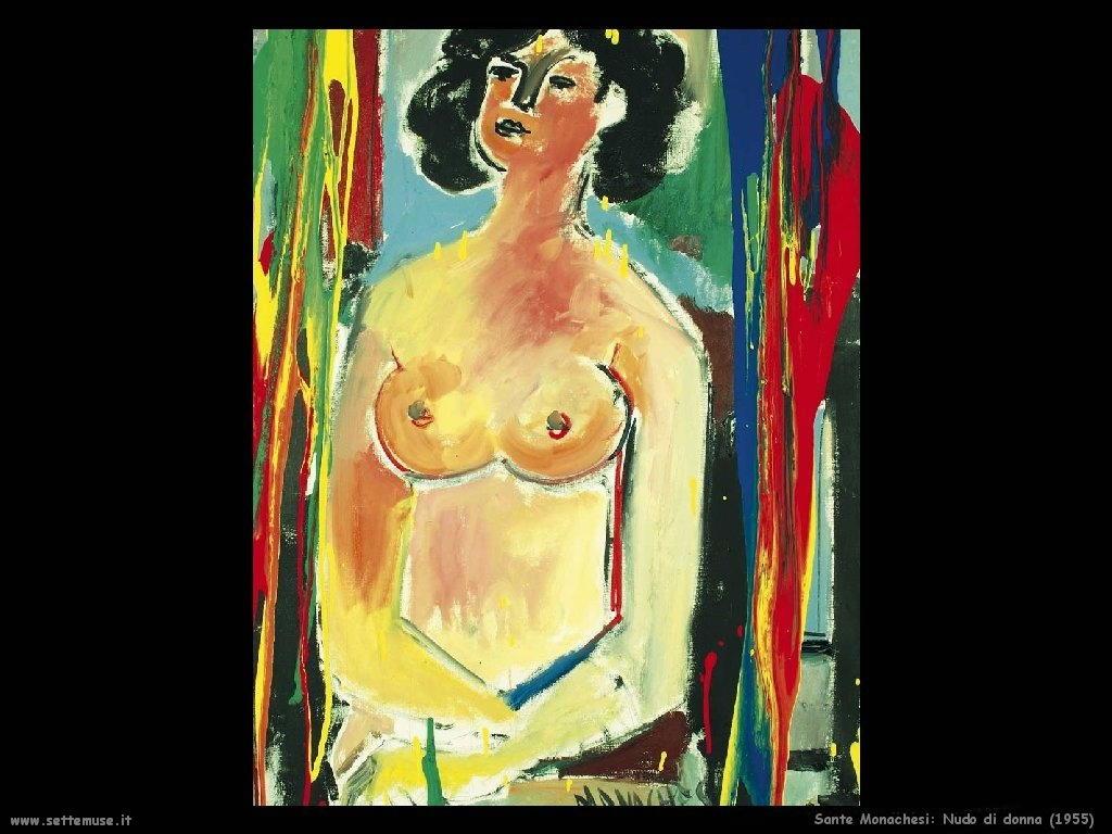 Sante Monachesi Nudo di donna (1955)