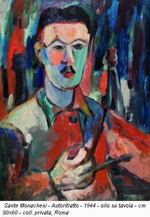 Autoritratto di Sante Monachesi
