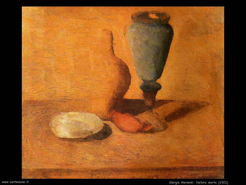 giorgio morandi Natura morta (1921)