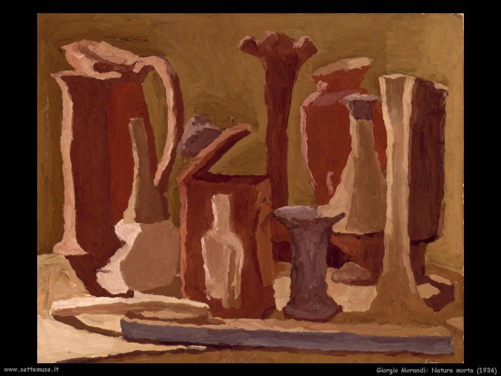 giorgio morandi Natura morta (1936)