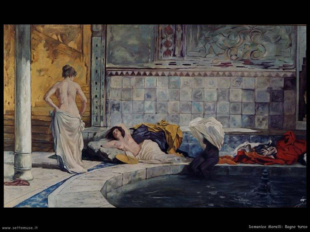 Domenico morelli pittore biografia opere - Bagno turco napoli ...