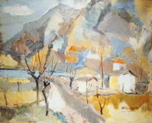 Dipinto di Ennio Morlotti