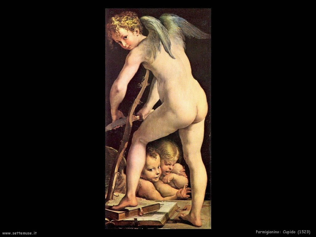 Parmigianino Cupido (1523)