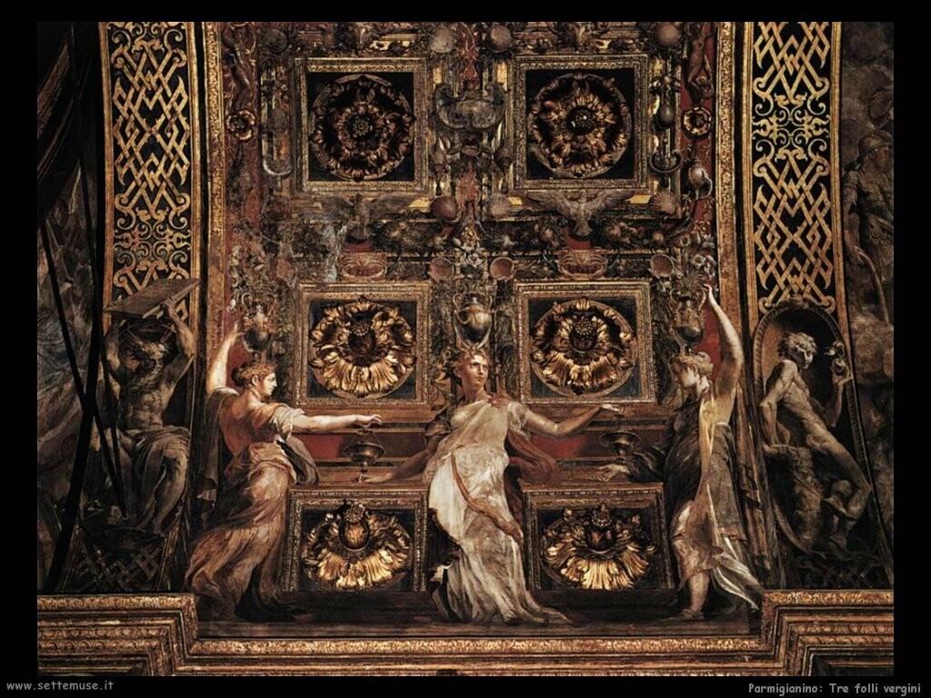 parmigianino Le tre vergini folli