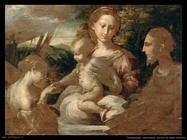 parmigianino Il matrimonio mistico di santa Caterina