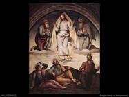 perugino pietro La trasfigurazione