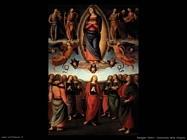 perugino pietro  Assunzione della Vergine