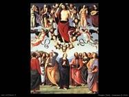 perugino pietro Ascensione di Cristo