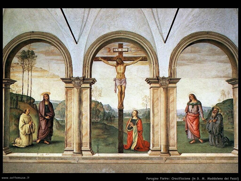 perugino pietro Crocifissione, in S.M.Maddalena dei Pazzi