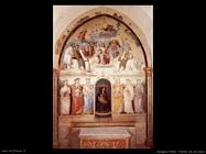 perugino pietro La trinità e sei santi