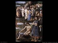 perugino pietro Battesimo di Cristo (dett)