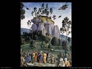 perugino pietro Mosè in Egitto (dett)