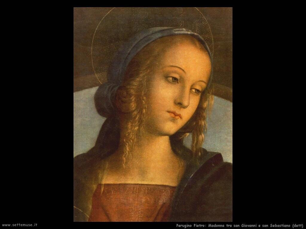 perugino pietro Madonna (dett)