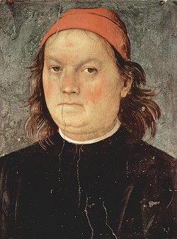 Autoritratto di Pietro Vannucci detto il Perugino