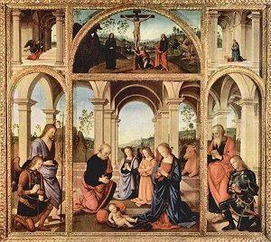Pittura di Pietro Vannucci detto il Perugino