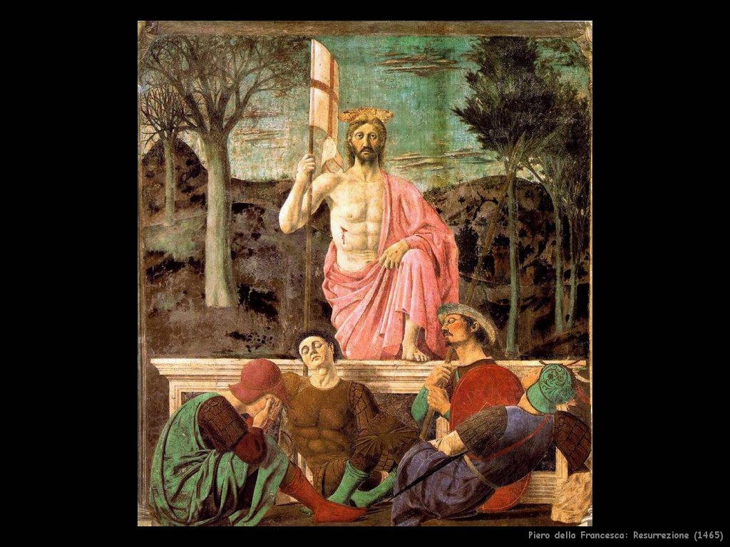 Piero della Francesca Resurrezione (1463)