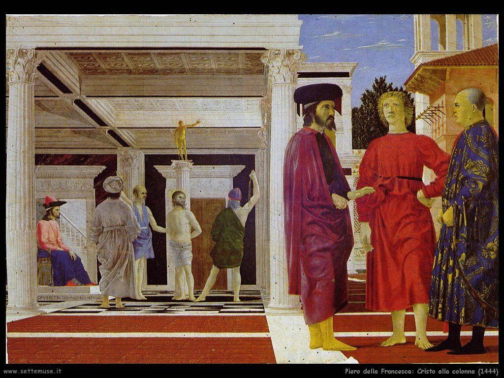 piero della francesca Cristo alla colonna (1444)