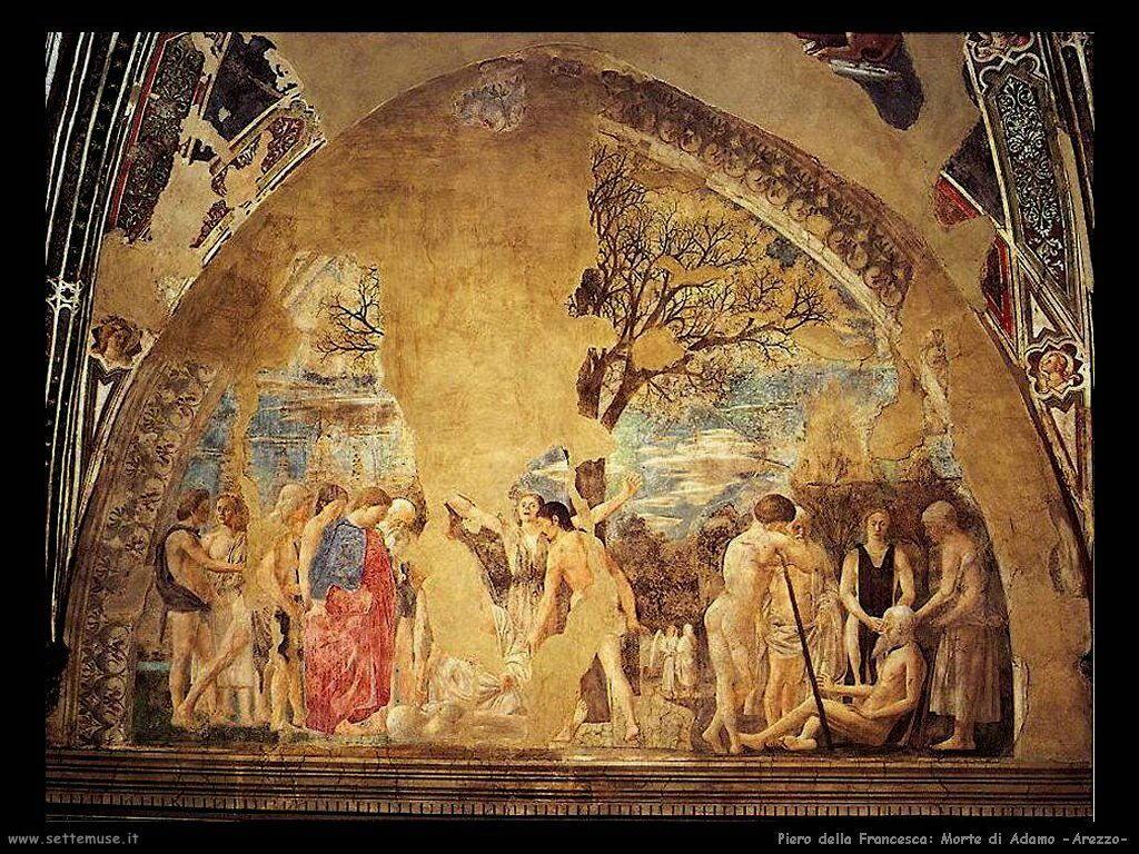 piero della francesca Morte di Adamo (Arezzo)