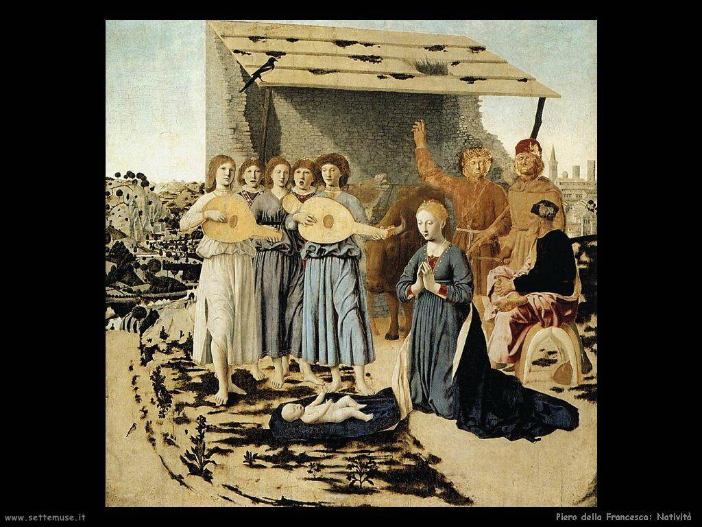 Piero della Francesca natività