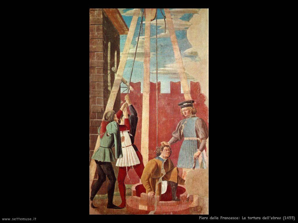 La tortura dell'ebreo (1455)