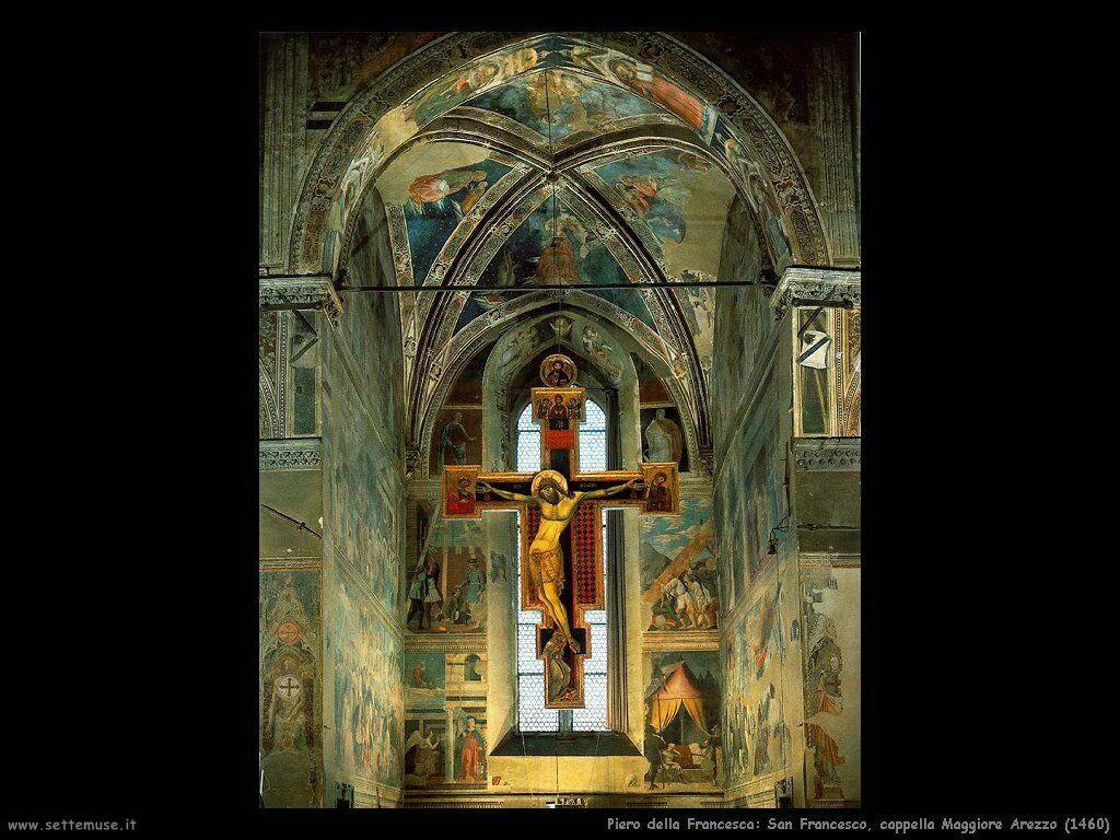 piero della francesca Cappella Maggiore Chiesa di San Francesco (Arezzo) (1460)
