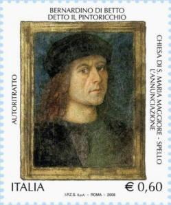 Ritratto di Bernardino di Betto detto Pinturicchio