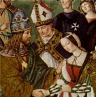 Pittura di Bernardino di Betto detto Pinturicchio