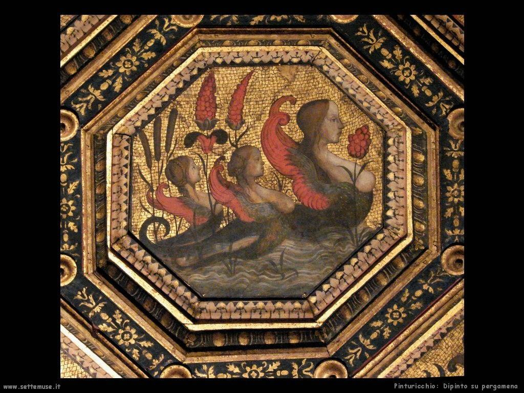 pinturicchio Dipinto su pergamena