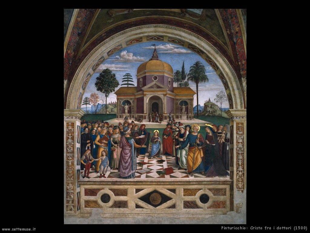 Cristo fra i dottori (1500)