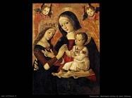 pinturicchio  Matrimonio mistico di santa Caterina