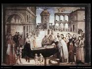 pinturicchio Morte di san Bernardino