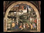 pinturicchio Adorazione del Bambino (Epifania, Re Magi)