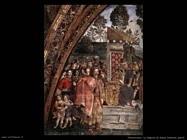 pinturicchio La disputa di santa Caterina(dett)
