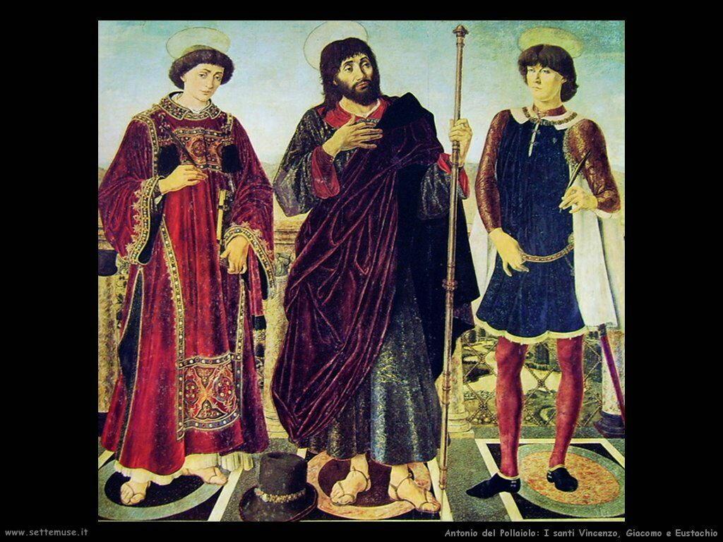 Santi Vincenzo, Giacomo, Eustachio