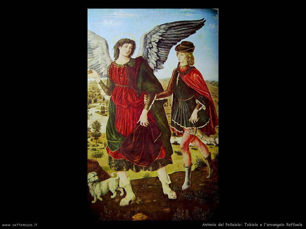 Tobiolo e l'arcangelo Raffaele