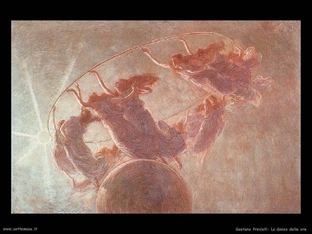 Gaetano Previati La danza delle ore
