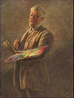 Autoritratto di Gaetano Previati