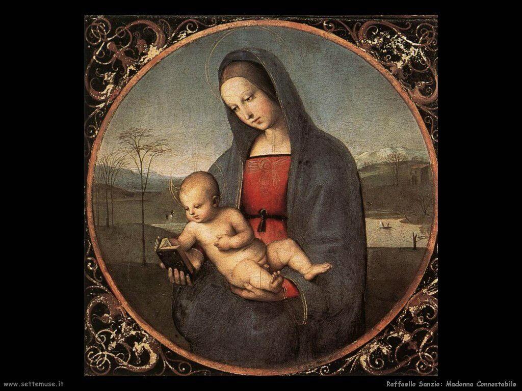 Madonna Connestabile (dett)