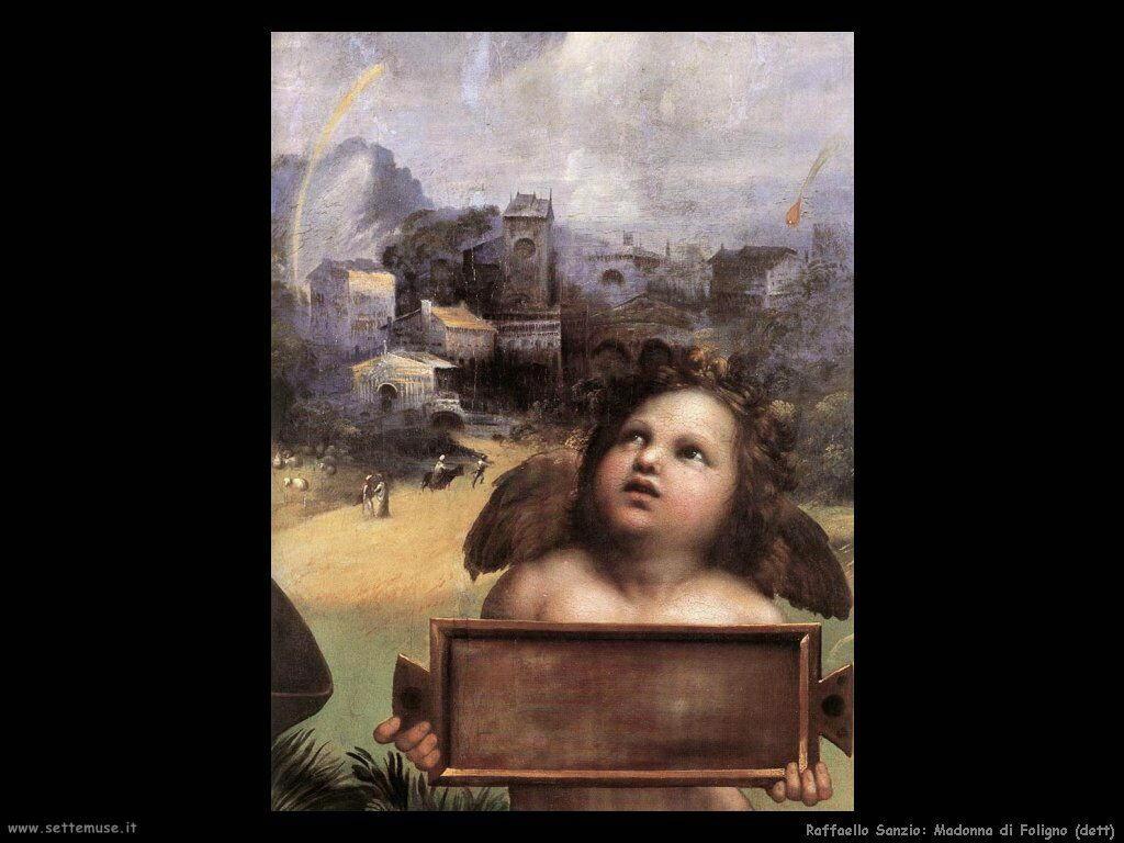 Madonna di Foligno (dett)