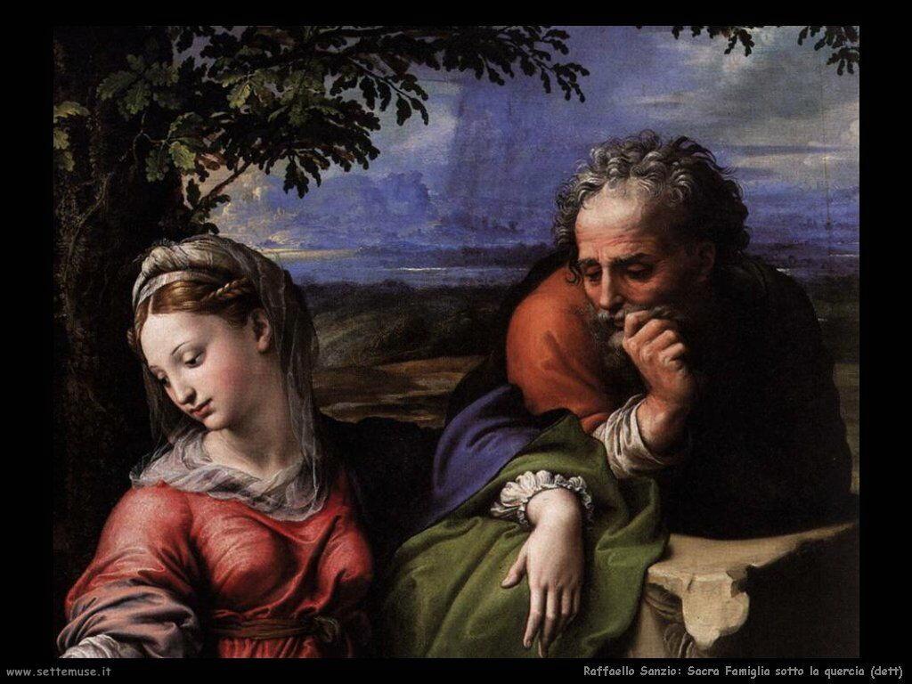 Sacra famiglia sotto la quercia (dett)