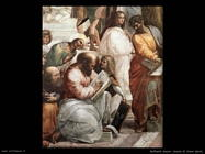 Raffaello: Scuola di Atene (dett)