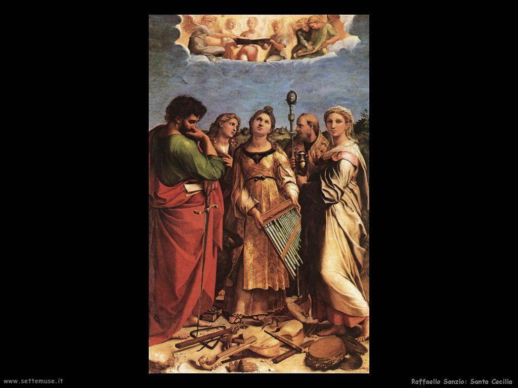 Raffaello: Santa Cecilia