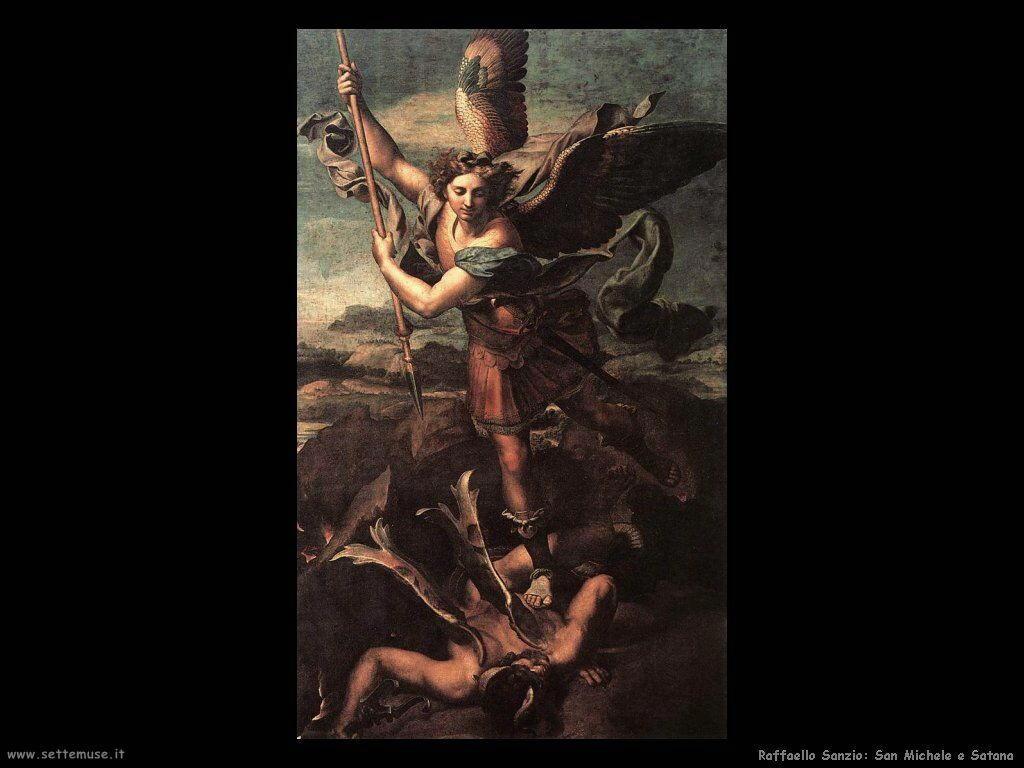 San Michele e un Satana