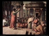 San Paolo prega in Atene