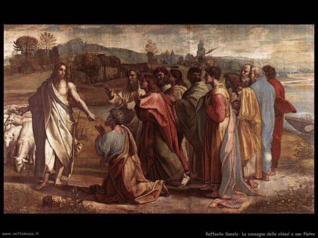 La consegna delle chiavi a san Pietro