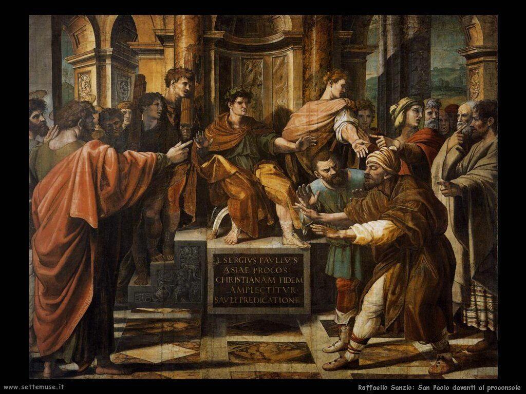 San Paolo davanti al proconsole